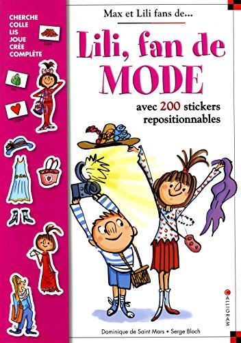 Lili, fan de Mode - Stickers