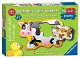 Ravensburger 6903My First Puzzles, Puzzle für Mütter und Babys–6x 2 Teile