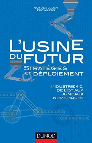 L'usine du futur - Stratégies et déploiement : Industrie 4.0, de l'IoT aux jumeaux numériques (Hors Collection) par Nathalie Julien, Éric Martin