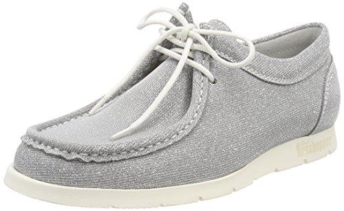 Sioux Damen Grash-d172-29 Sneaker, Grau (Lightgrey-Silver), 39.5 EU (6 UK)