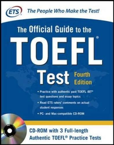 Official Guide to the TOEFL Test with CD-ROM (McGraw-Hill's Official Guide to the TOEFL Ibt (W/CD))