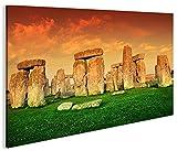 islandburner Bild Bilder auf Leinwand Stonehenge V3 1K XXL