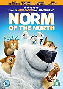 Norm Of The North Dvd Rob Schneider James Corden Bill Nighy Colm Meaney
