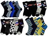 Unbekannt 10er Pack Jungen Thermo Winter Socken Größe 24-37 (28-32)