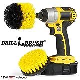 Drillbrush New Quick Change Shaft Shower, Tub, and Tile Power Scrubber Brush