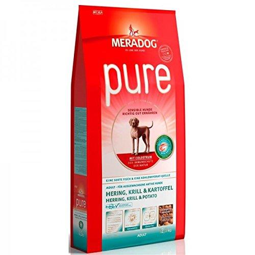 Mera Dog Hundefutter Pure Hering & Krill, getreidefrei, 12.5 kg, 1er Pack (1 x 12.5 kg) - 2
