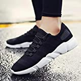 Tsumbay Kruchika Men's Black Men's Spring Sole Series Mesh Smart Casual, Walking,Gymwear, Running Shoes