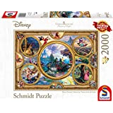 Schmidt Spiele Puzzle 59607Thomas Kinkade, Disney Dreams Collection, 2000Piezas Puzzle