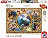 Schmidt Spiele Puzzle 59607 Thomas Kinkade, Disney Dreams Collection, 2000 Teile, bunt