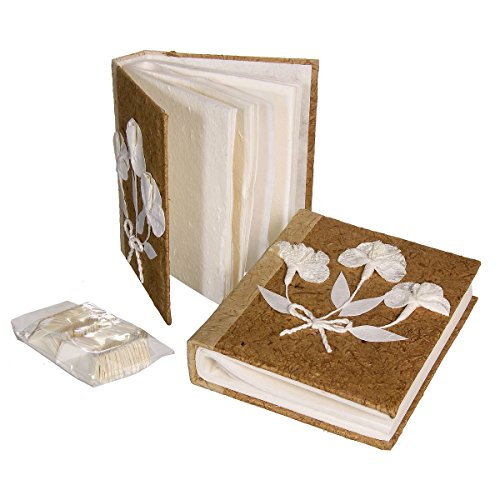Discount Etnico - Album Portafoto Carta Saa 3 Fiori Misura 16 x 20 cm