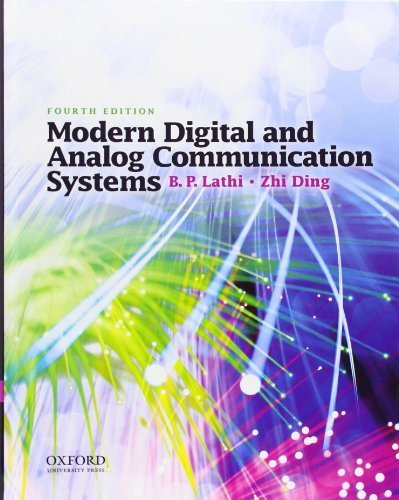 Modern Digital and Analog Communication Systems (Oxford Series in Electrical and Computer Engineering) by Lathi, B. P., Ding, Zhi (2009) Hardcover