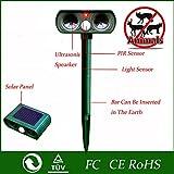 Generic 2016 High Quality Green Garden Cat Dog Pest Repeller Solar Power Ultra
