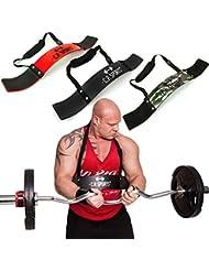 C.P. Sports Aislador de bíceps, ideal para culturismo, deportes de fuerza y levantamiento de