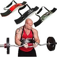 C.P. Sports Aislador de bíceps, ideal para culturismo, deportes de fuerza y levantamiento de peso, G28-schwarz, Negro
