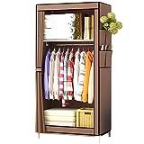 UDEAR Armario de Tela Plegable Ropa Organizador Closet