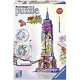 Ravensburger - 12599 - Puzzle 3D Empire State Building Pop Art - 216 Pièces