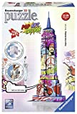 Ravensburger 3D-Puzzle 12599 - Pop Art Edition, Empire State Building, bunt