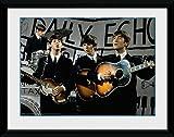 GB Eye Gerahmtes Foto The Beatles Daily Echo, 20x15cm