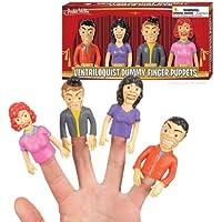 Ventriloquist Dummy Finger Puppe