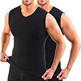 HERMKO 16050 2er Pack Herren Business Unterhemd mit V-Ausschnitt