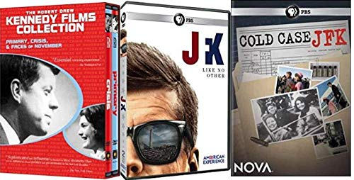 Robert Drew Collection - JFK Revealed: Primary / Crisis / Faces of November / PBS: JFK / PBS: Cold Case JFK