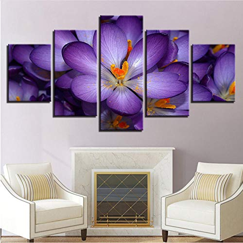 Impresiones sobre lienzoLienzo HD Imprime Fotos Arte de la Pared 5 Unidades...