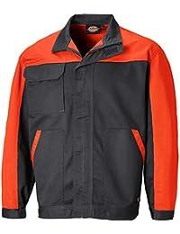 Dickies Veste Everyday, 1pièce, XL, gris/orange, ED24/7jk gyoxl