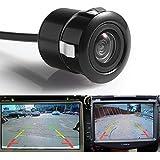 PolarLander Cámara trasera HD CCD Cámara trasera del coche Invertir cámara de copia de seguridad de copia de seguridad Cámara de visión trasera de 170 grados