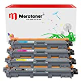 Merotoner 4 Multipack Tonerset kompatibel zu Brother TN-241-BK TN-245-C, Y, M DCP-9020CDW DCP-9022CDW MFC-9142CDN MFC-9342CDW MFC-9332CDW HL-3150CDW HL-3170CDW Farblaser-Multifunktionsdrucker