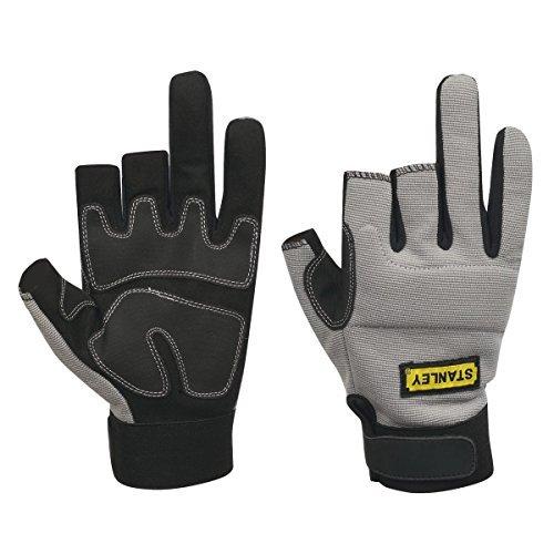 3-finger-framer Glove (Stanley Performance 3-Finger Framer Gloves Grey by Stanley)