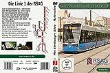 Führerstandmitfahrt in Rostock - Die Linie 1 der RSAG [Alemania] [DVD]