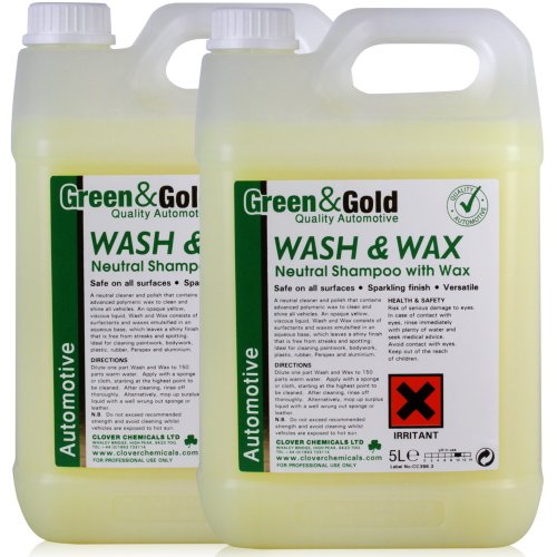 wash-and-wax-car-shampoo-a-neutral-dilutable-cleaner-and-polish-for-hand-use-10-litres-comes-with-tc