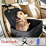 TBoonor 2-in-1 Hund Autositzbezug, Hund Sitzbezug Pet Booster Carrier mit wasserdichtem & rutschfester Backing Design für alle Autos, Trucks & SUVs (Für Vordersitze)