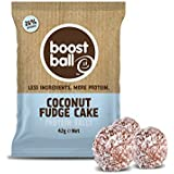 Boostball Coconut Fudge Cake Protein Boost ball (Pack of 12 x 42g)
