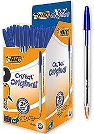 Bic Cristal Original Punta Media 1 mm Confezione 50 Penne Colore Blu