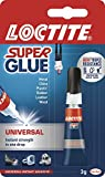 Loctite 0000602 Super Glue Sekundenkleber in Tube, 3 g