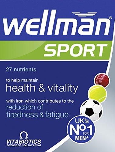 Vitabiotics Wellman Sport 30 Tabs, 59 g