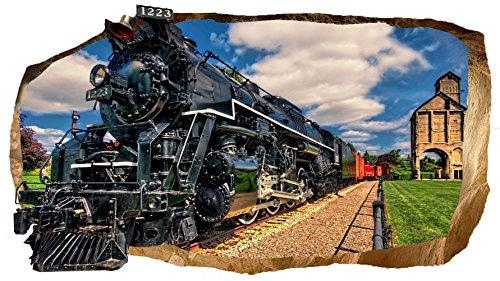 startonight-3d-mural-wall-art-photo-decor-luxury-train-glow-in-the-dark-large-3228-inch-by-5906-inch