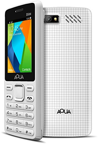 Aqua Shine Dual SIM Basic Mobile Phone White