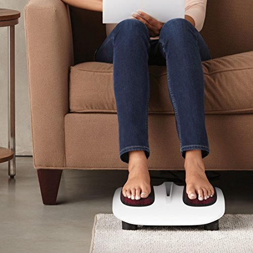 HoMedics Foot Massager with Heat, Rotating Massage, Shiatsu Massage