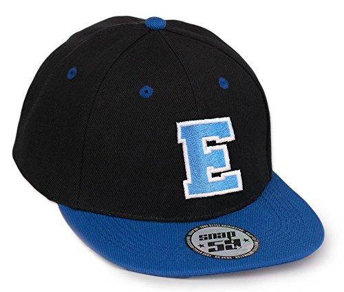 Baseball Mütze Cap 59 Caps A-Z BAD SWAG schwarz Snapback with Adjustable Strap Snap Back LA (E)