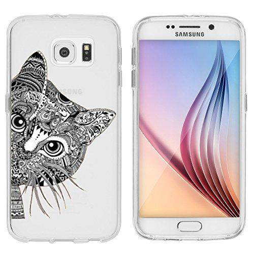 Schwein Zubehör Kit (Samsung Galaxy S6 Hülle von licaso® aus TPU schützt Dein S6 5,1