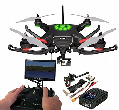 Thunder Tiger GHOST+ Quadrocopter RTF FPV ''FACTORY TEAM'' komplett montiert & Setup inkl. 3D-Gimbal READY für GoPro