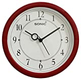 Sonic Red & White Color Wall Clock / Wat...