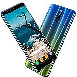 Smartphone Pas Cher 4G 6.0 Pouces, 3Go RAM 16Go ROM 8MP Caméra 4800mAh Android 8.1 Téléphone Portable Débloqué (2 Micro SIM + 1 MicroSD) GPS WiFi téléphone Portable Pas Cher sans Forfait(Blue)