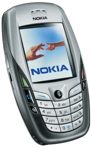 Nokia 6600 Handy hellgrau