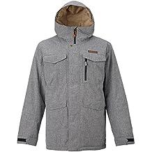Burton Chaqueta de snowboard Covert Jacket, otoño/invierno, hombre, color Bog Heather, tamaño S