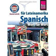 Kauderwelsch, Spanisch für Lateinamerika Wort für Wort