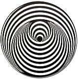 Swirl Schallplatten Etikett Vertigo Jacket Mousepad rund. Mauspad mit Lüfter Vinyl