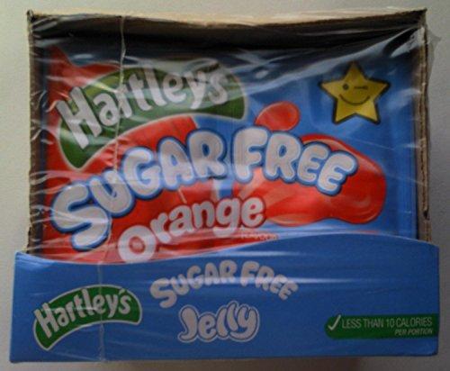 Hartleys Sugar Free Jelly Orange 12 x 23gm Test
